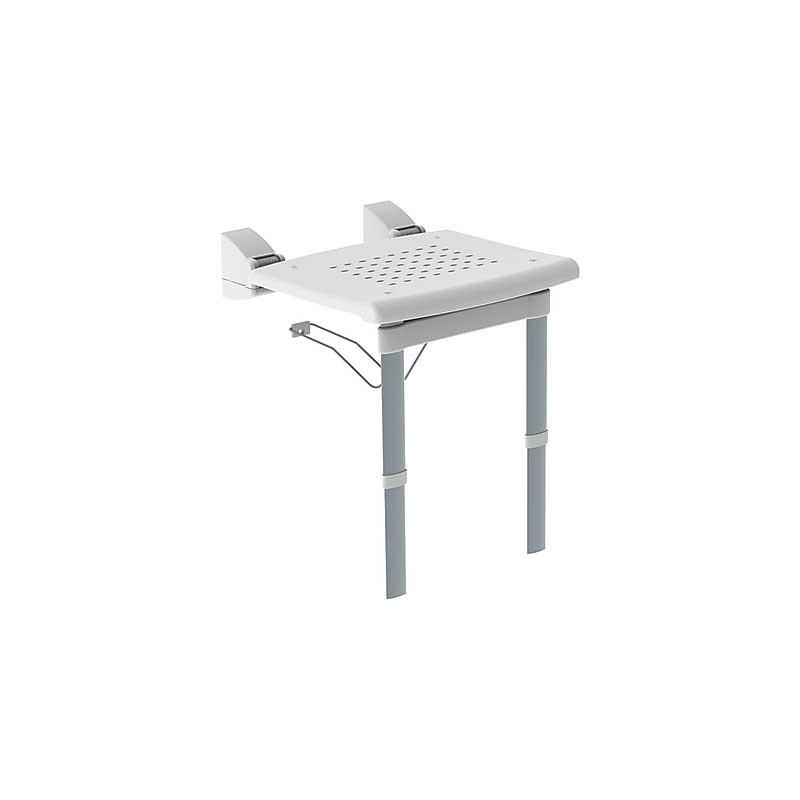 Saneamientos pradillo asiento plegable de ducha con for Asiento plegable ducha