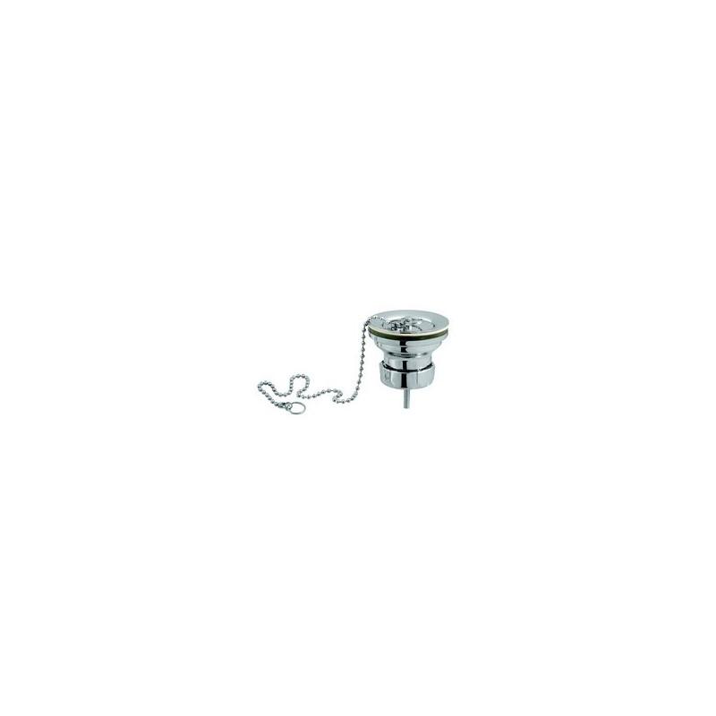 Saneamientos pradillo v lvula desag e lavabo bid cromada for Valvula desague lavabo